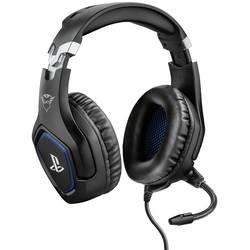 Trust GXT 488 FORZE Headset na kabel, stereo přes uši, jack 3,5 mm, černá