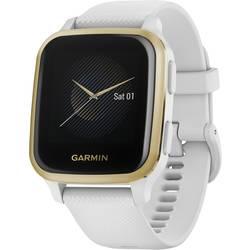 GPS sportovní hodinky Garmin VENU SQ Weiss/Weissgold