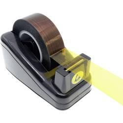ESD odvíječ lepicí pásky Quadrios 2010EC134, 1 ks, černá