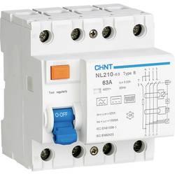 Ochranný proudový spínač Chint 782010, 63 A 0.3 A zbytkový proudový chránič 3pólový