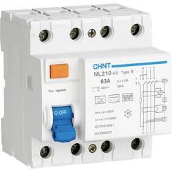 Ochranný proudový spínač Chint 782000, 63 A 0.03 A zbytkový proudový chránič 3pólový