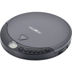 Přenosný CD přehrávač Discman Reflexion PCD400, CD, CD-R, CD-RW, černá