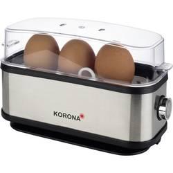 Vařič vajec Korona černá, nerezová ocel
