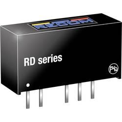 DC/DC měnič napětí do DPS RECOM RD-2405D, 200 mA, 2 W, Počet výstupů 2 x