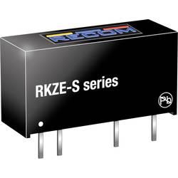 DC/DC měnič napětí do DPS RECOM RKZE-1205S, 400 mA, 2 W, Počet výstupů 1 x