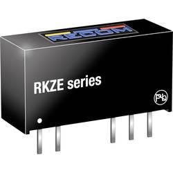 DC/DC měnič napětí do DPS RECOM RKZE-1212D, 84 mA, 2 W, Počet výstupů 2 x