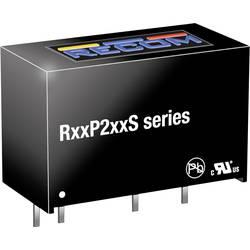 DC/DC měnič napětí do DPS RECOM R12P212S, 167 mA, 2 W, Počet výstupů 1 x