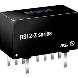 DC/DC měnič napětí do DPS RECOM RS12-2405SZ, 2400 mA, 12 W, Počet výstupů 1 x