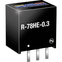 DC/DC měnič napětí do DPS RECOM R-78HE5.0-0.3, 300 mA, Počet výstupů 1 x