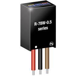 DC/DC měnič napětí do DPS RECOM R-78W3.3-0.5, 500 mA, Počet výstupů 1 x