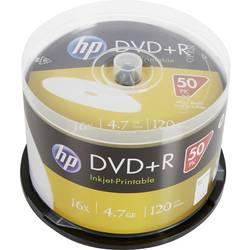 DVD+R 4.7 GB HP DRE00026WIP, s potiskem, 50 ks, vřeteno