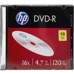 DVD-R 4.7 GB HP DME00085, 10 ks, Slimcase
