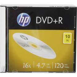 DVD+R 4.7 GB HP DRE00085, 10 ks, Slimcase