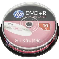 DVD+R DL 8.5 GB HP DRE00060, 10 ks, vřeteno