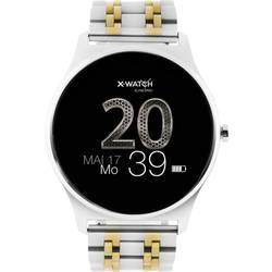 Chytré hodinky X-WATCH Joli XW Pro, stříbrná