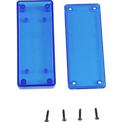 Univerzální pouzdro Hammond Electronics 1551UUTBU, 100 x 40 x 15 , ABS, modrá (transparentní), 1 ks