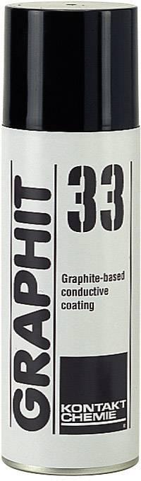 Grafitový lak CRC Kontakt Chemie GRAPHIT 33 76009-AG 200 ml