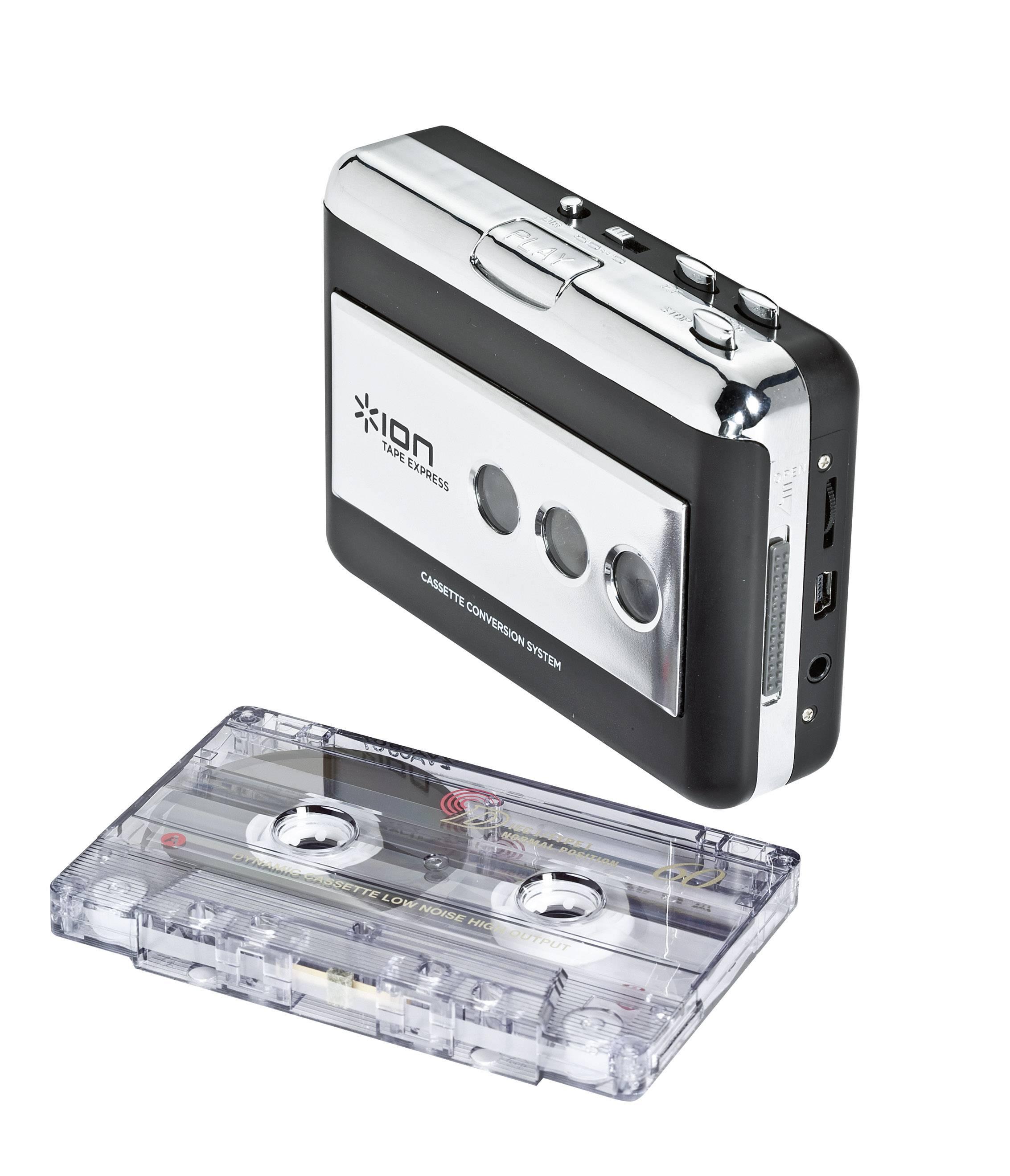 Enkóder a prehrávač na magnetofonové kazety, ION Tape Express