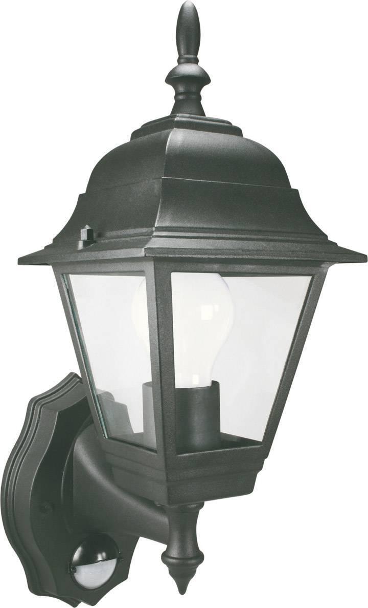 Vonkajšie svietidlo s PIR senzorom ELRO E27, 100 W, antracit
