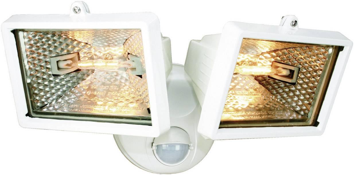 Vonkajšie halogénové svietidlo ELRO, s PIR senzorom, 120 W, biele
