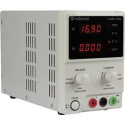 Laboratórny zdroj s nastaviteľným napätím Velleman LABPS3005, 0 - 30 V/DC, 0 - 5 A, 150 W