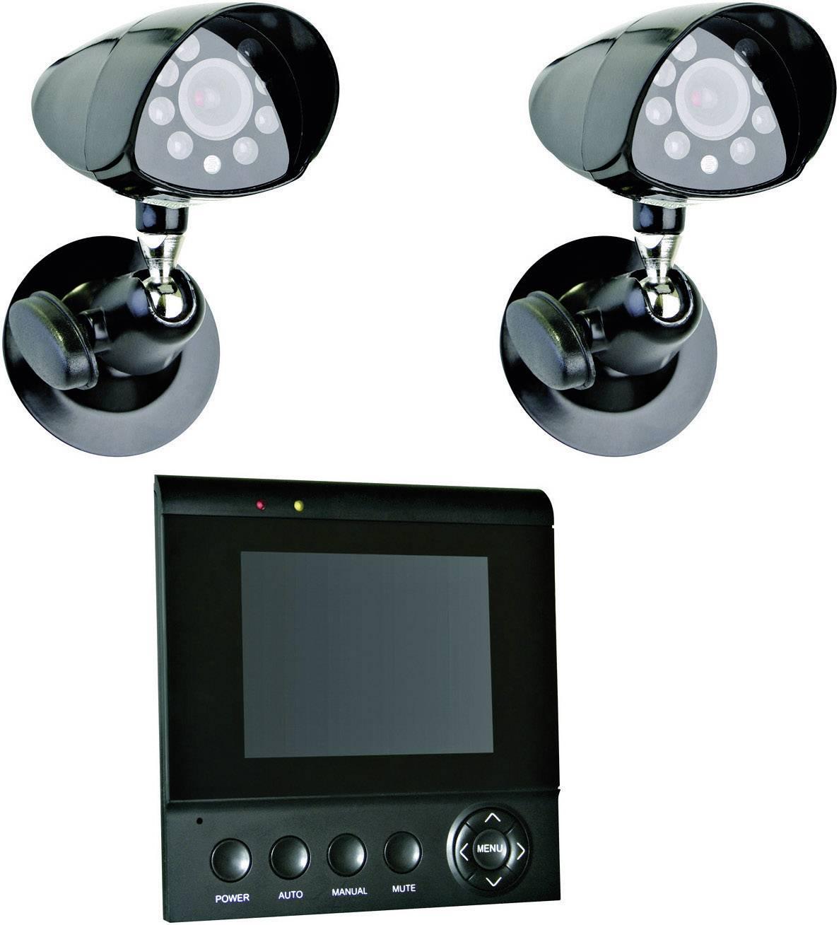 Monitorovací kamera s TFT displejem Elro, CS72SEC, 1kanálová, 320 x 240 px