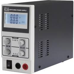 Laboratórny zdroj s nastaviteľným napätím Velleman LABPS6005SM, 0 - 60 V, 0 - 5 A