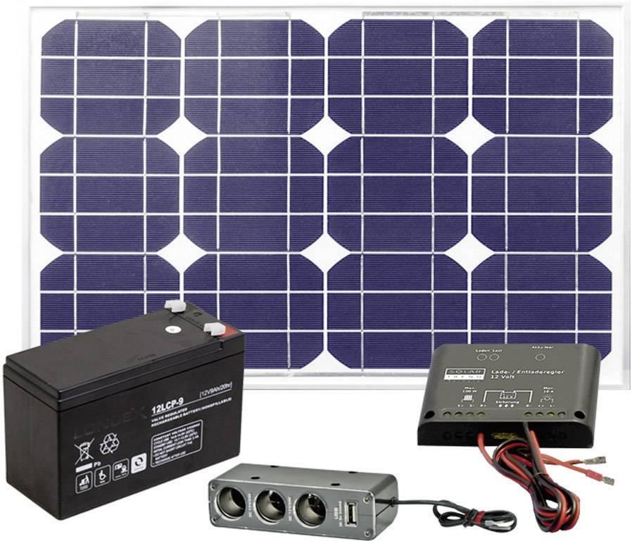 Batérie/akumulátory & Solárna a veterná technika