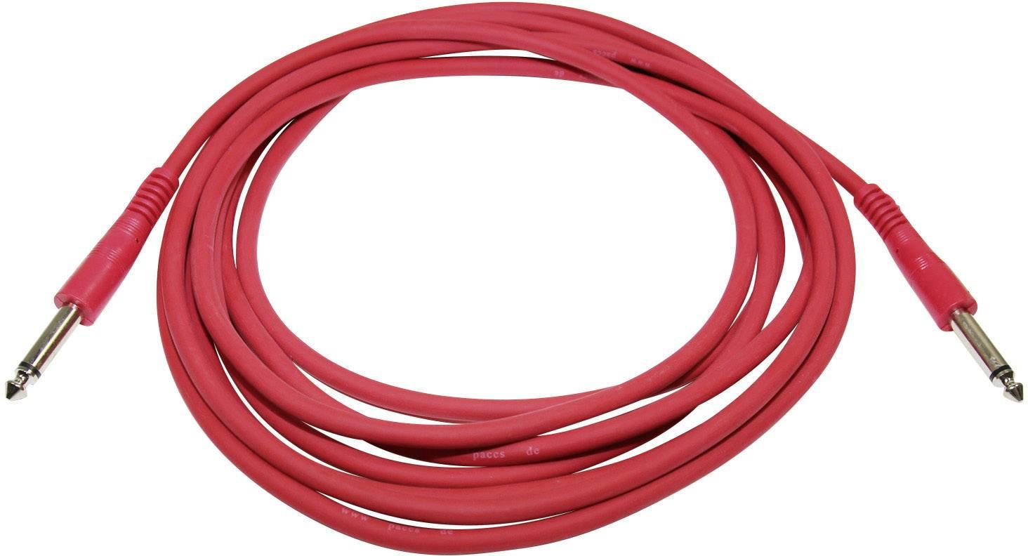 Inštrumentálne káble 6,3 mm