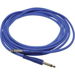 Kabel Paccs IC52BL040SD, [1x jack zástrčka 6,3 mm - 1x jack zástrčka 6,3 mm], 4.00 m, modrá