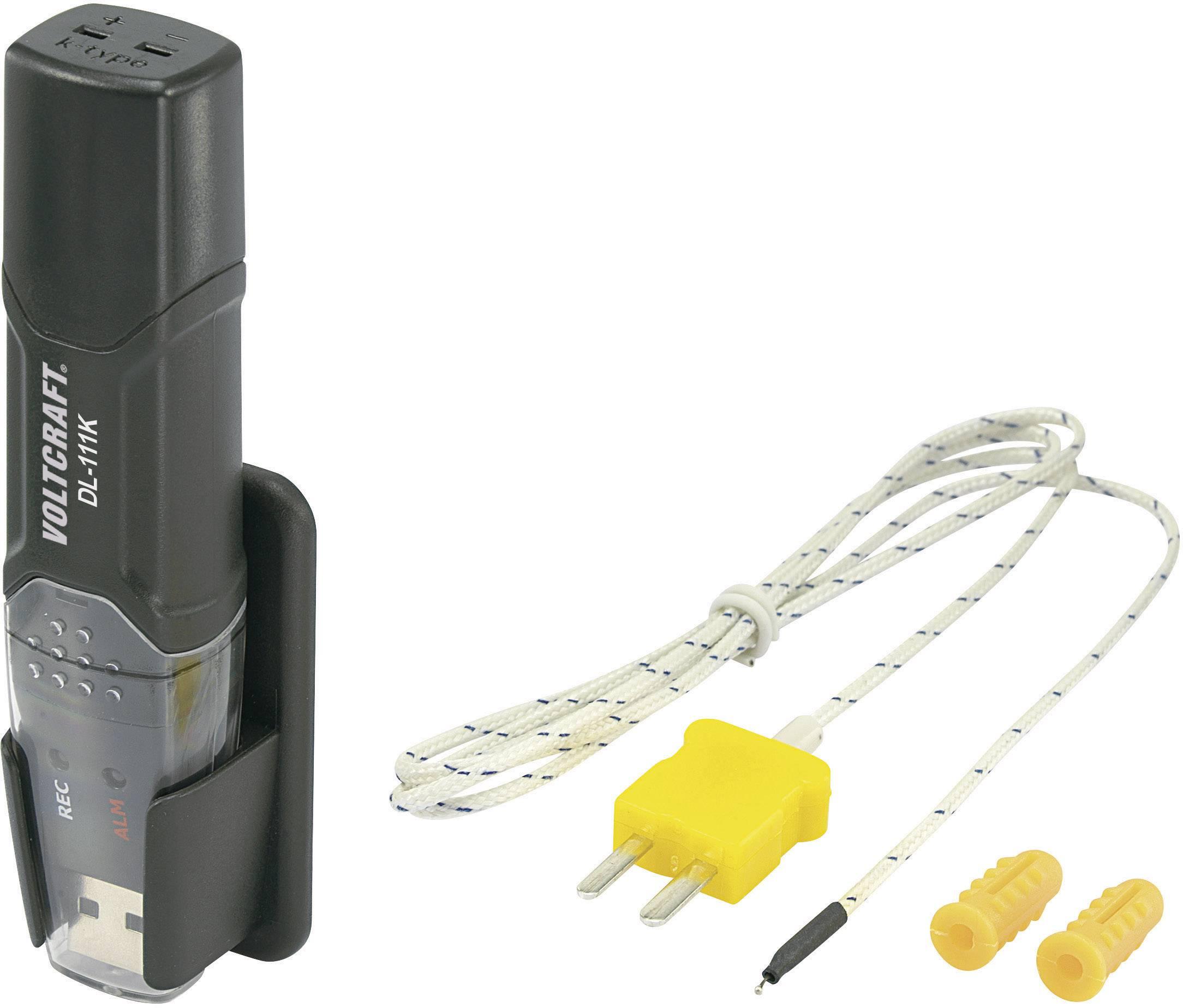 Teplotní datalogger Voltcraft DL-111K USB, typ K
