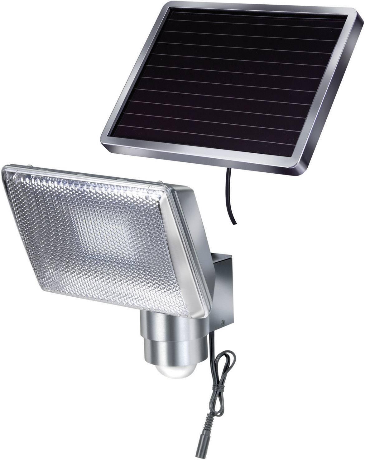 Solárne LED reflektor s detektorom pohybu PIR Brennenstuhl SOL 80, 1170840