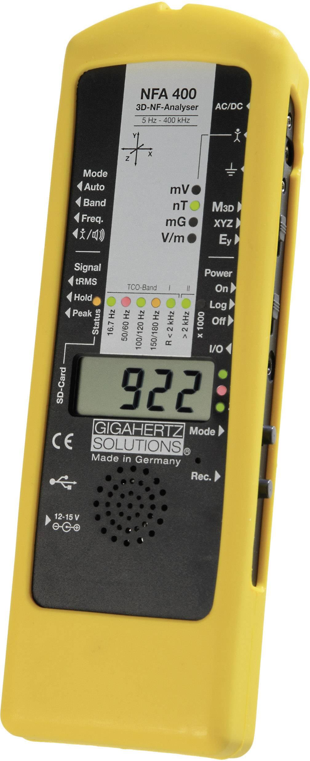 Merač elektrosmogu Gigahertz Solutions NFA400 350-010, 5 Hz - 400 kHz