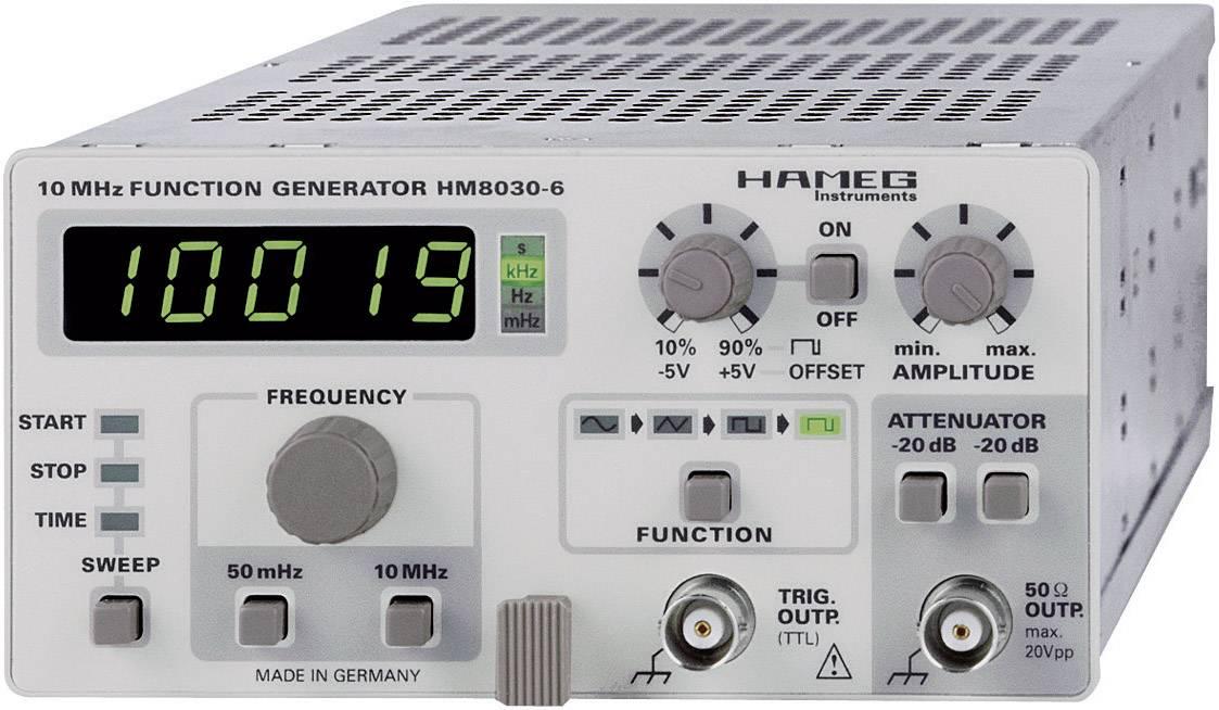 Generátor funkcí Hameg HM 8030-6, rozsah 0,05 Hz - 5 MHz