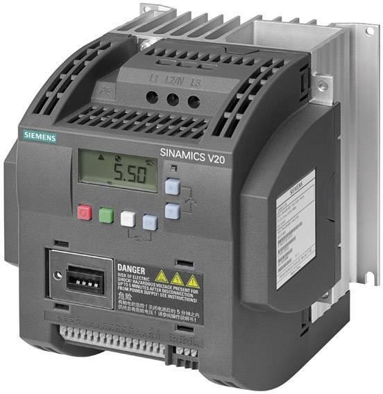 Frekvenční měnič Siemens FSB, 1.5 kW, 1fázový, 230 V