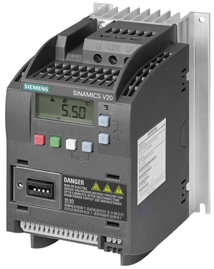 Frekvenční měnič Siemens FSA, 0.75 kW, 2fázový, 400 V