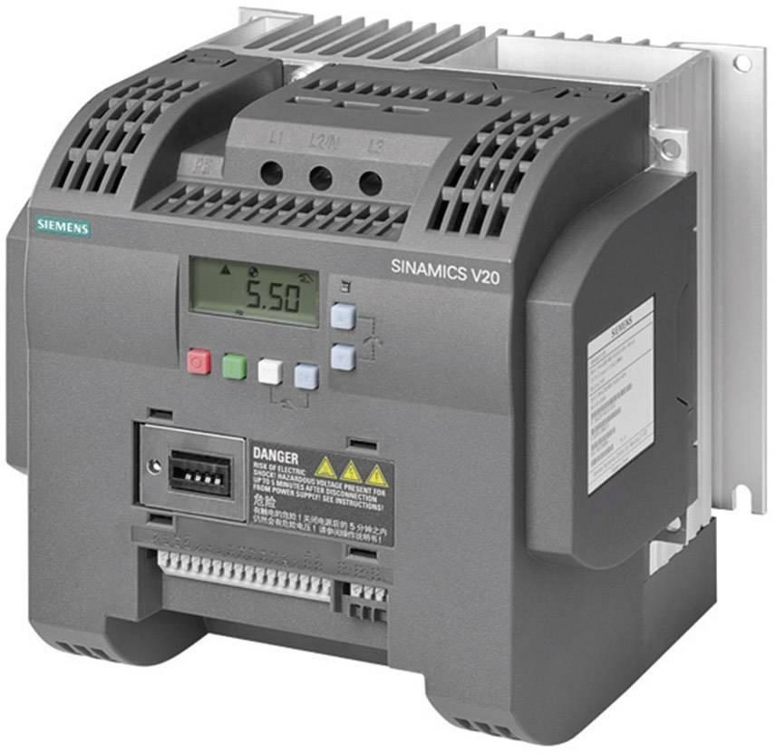 Frekvenční měnič Siemens FSC, 3.0 kW, 2fázový, 400 V