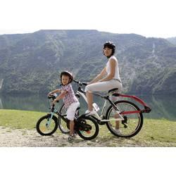Tandemové tyč bicykla Trail Angel, červená, čierna