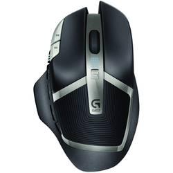 Optická bezdrátová herní myš Logitech Gaming G602 910-003822, černá