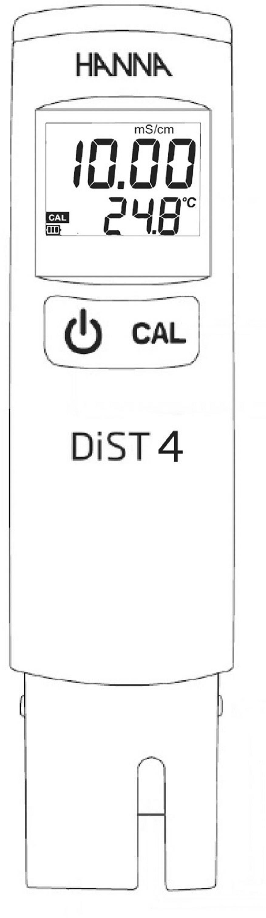 Merač elektrickej vodivosti Hanna Instruments HI 98304S Dist 4