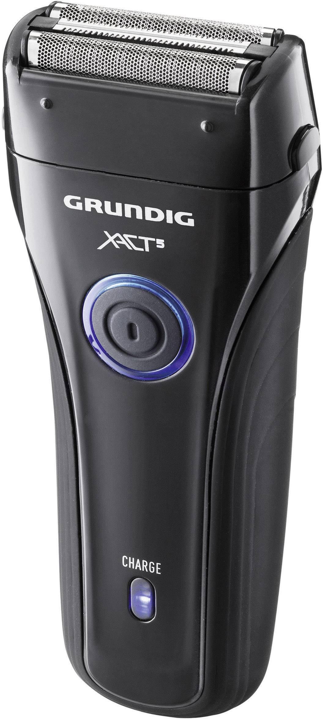 Holící strojek Grundig MS 6240, GMN3730, černá/modrá