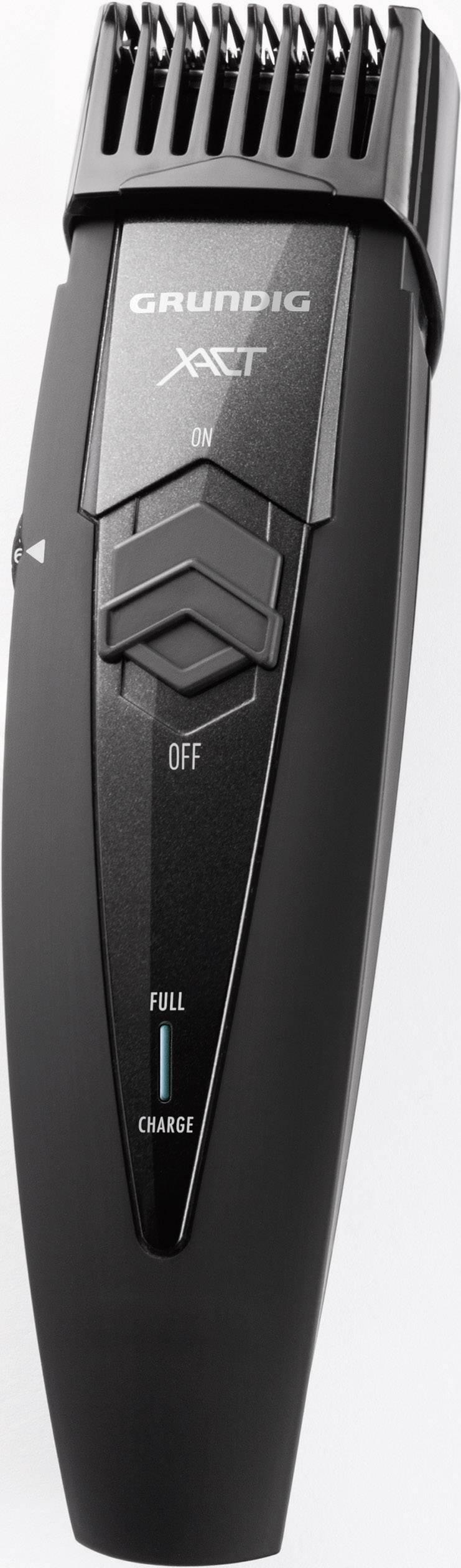 Zastrihávač fúzov Grundig MT6340, omývateľný, čierna