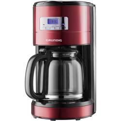 Kávovar Grundig KM 6330, červená (metalíza), čierna, nerezová oceľ