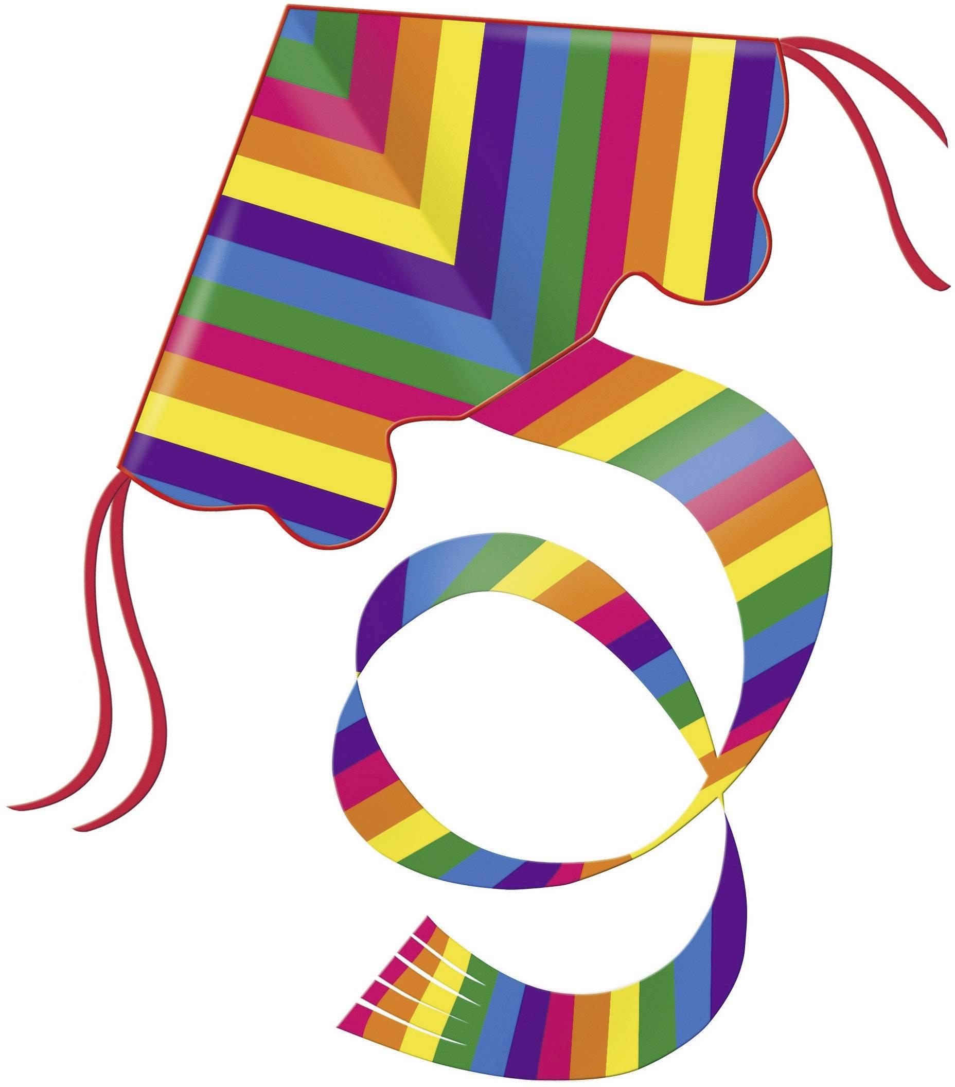 Dětský drak Günther Rainbow 1159, 970 mm