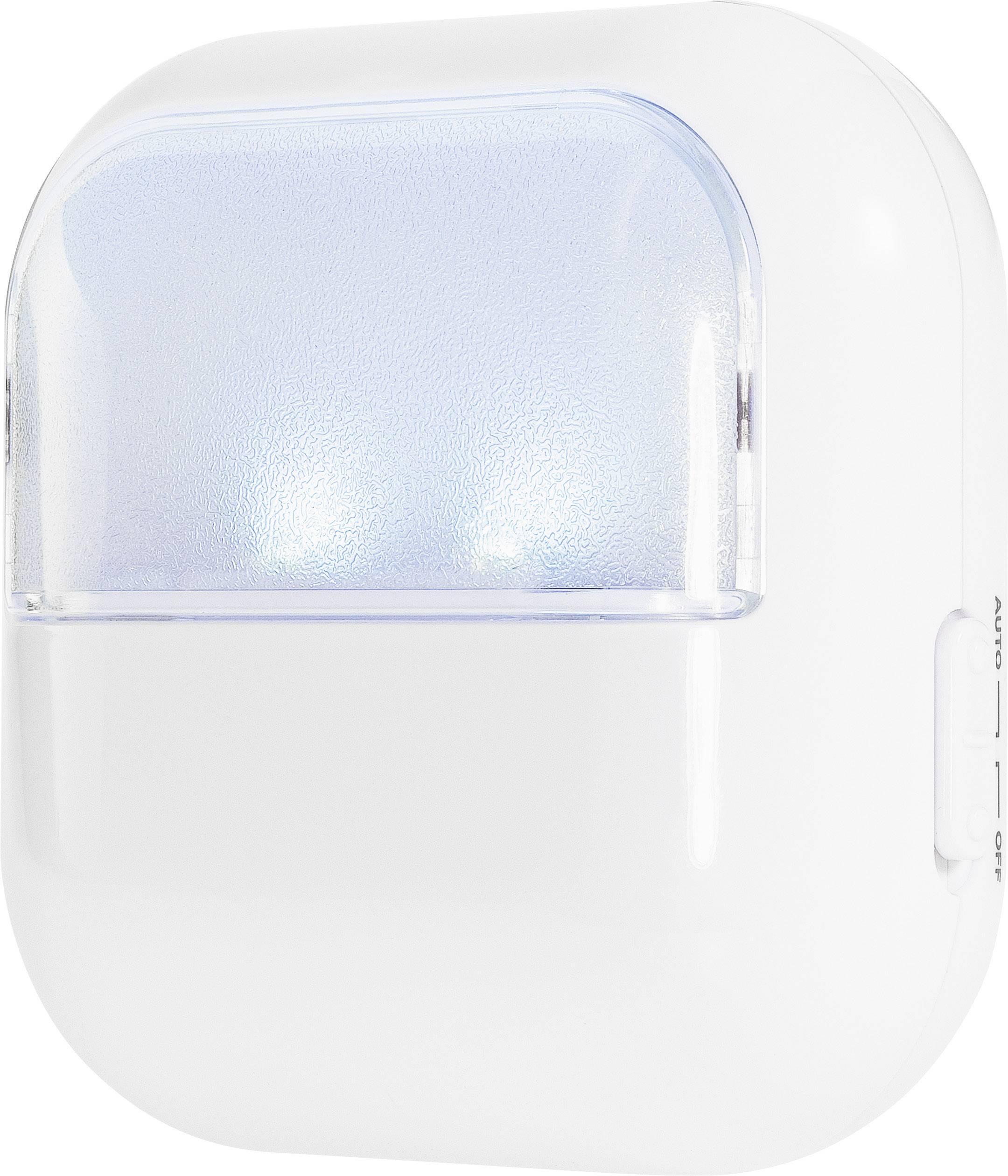 LED nočné svetlo Renkforce Kim, farba svetla chladná biela, biela