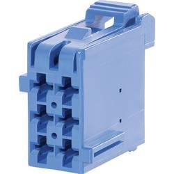 Zásuvkové púzdro na kábel TE Connectivity J-P-T 1-965640-4, 26.5 mm, pólů 6, rozteč 5 mm, 1 ks