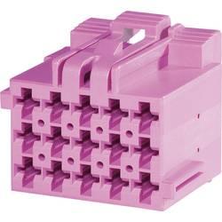 Zásuvkové púzdro na kábel TE Connectivity J-P-T 1-967623-5, 26.5 mm, pólů 15, rozteč 5 mm, 1 ks