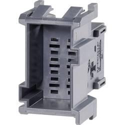 Zásuvkové púzdro na kábel TE Connectivity J-P-T 1-967626-2, 35.5 mm, pólů 9, rozteč 5 mm, 1 ks