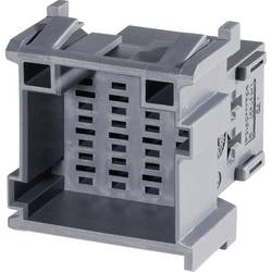 Zásuvkové púzdro na kábel TE Connectivity J-P-T 1-967627-1, 35.5 mm, pólů 12, rozteč 5 mm, 1 ks