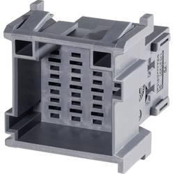 Zásuvkové púzdro na kábel TE Connectivity J-P-T 1-967627-2, 35.5 mm, pólů 12, rozteč 5 mm, 1 ks